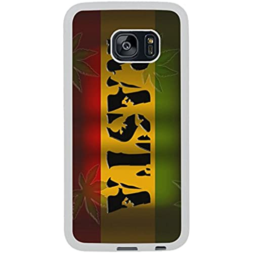 Samsung S7 Edge Case, Rasta Reggae 2 White Rubber Case for Samsung S7 Galaxy Edge,S7 Edge Case,Galaxy S7 Edge Sales