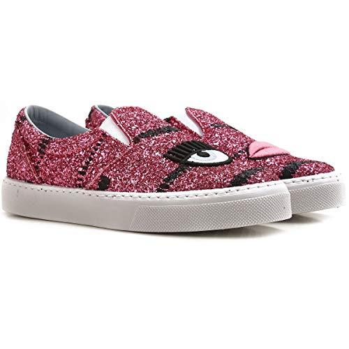 Cf1546pink Slip Rosa Chiara On Donna Ferragni Glitter Sneakers wg5TOUXTq