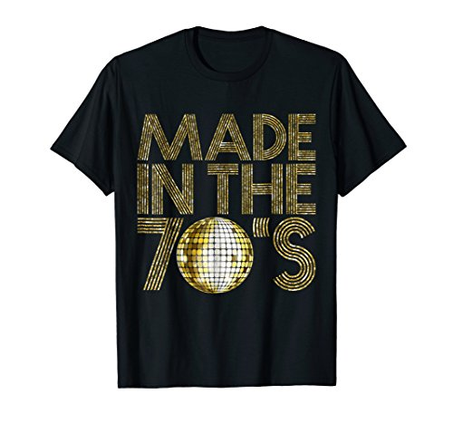 1970 Womens Retro T-shirt - Made In The 70s Seventies 1979 Retro Disco 40 Years T-shirt