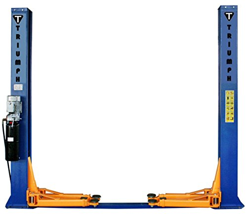 Triumph NT-11 11,000lbs Two Post Floor Plate Lift Hoist ()