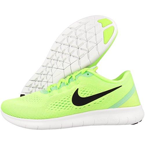 Nike Damer Fri Rn Løbesko Grøn (spøgelse Grn / Blk-frisk Mnt-off Wht) OMLvGG6
