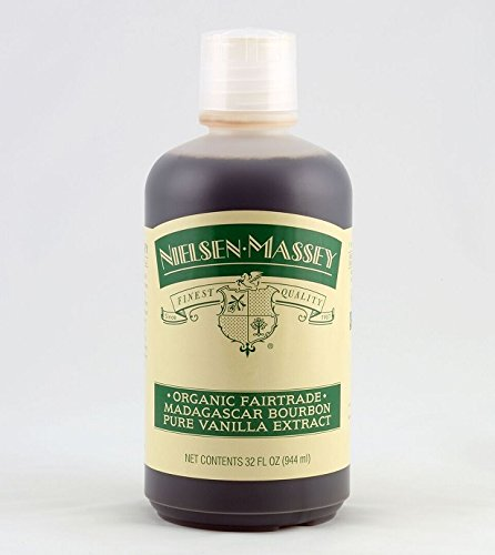 Organic Madagascar Bourbon Pure Vanilla Extract Fair Trade 32 Fl Oz by Nielsen-Massey