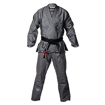 Tatami Fightwear Estilo Classic Quicksilver Mens Bjj Gi Grey