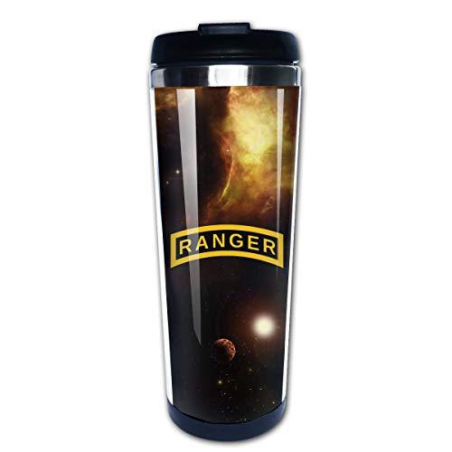 US Army Retro Ranger Portable Coffee Cup Travel Mug 13.5 Oz -