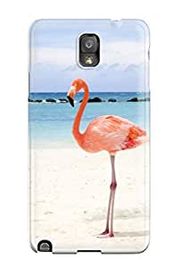 New CharlesRaymondBaylor Super Strong Two Flamingos Tpu Case Cover For Galaxy Note 3