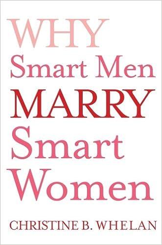 why smart men marry smart women whelan christine b