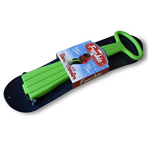 (NSG Freshie Snow Scooter Sled Board, Green/Blue)