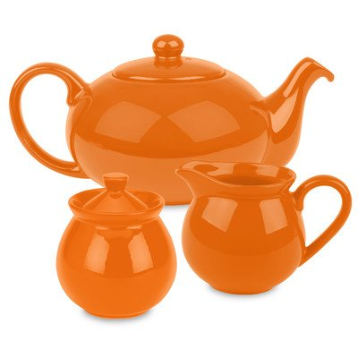 Waechtersbach Fun Factory Tea Set, Orange ()
