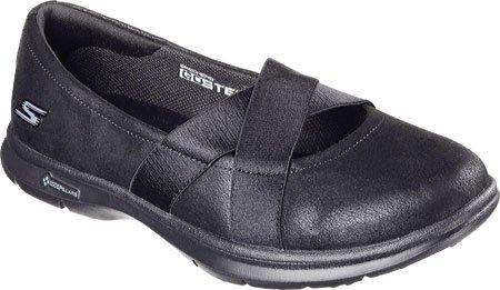 Skechers Womens GO STEP Dainty Mary Jane Walking Shoe Black bIJgVD93QF