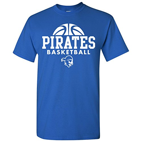 Seton Hall Pirates Basketball Hype Mens T-Shirt - Large - Royal]()