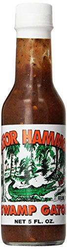 Gator Hammock, Hot Sauce Habanero And Jalapeno, 5 Fl Oz
