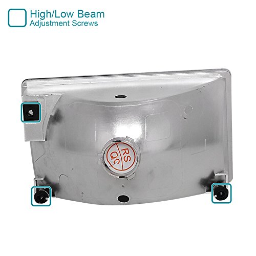 Spec-D Tuning LH-GKEE93-RS Chrome Headlight Crystal Housing
