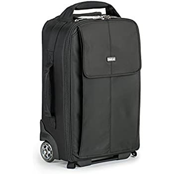"Think Tank Airport Advantage Carry-On Roller Bag for 2 DSLRs with Lenses Attached, 15"" Laptop"