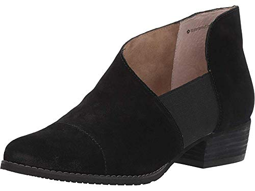 Blondo Women's IZZYS Shoe, Black Suede, 7.0 Medium US