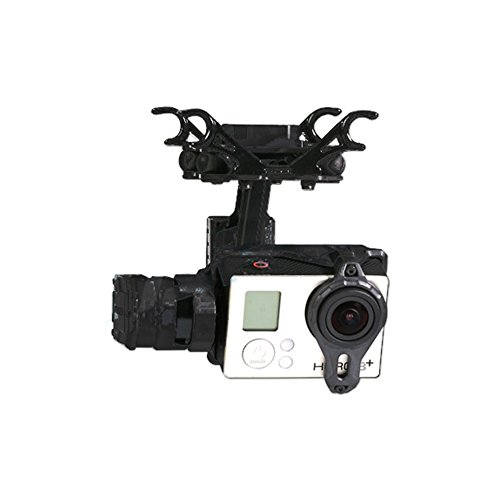 Tarot TL2D01 T2-2D 2-Axis Brushless Gimbal PTZ For Gopro Hero 4/3+/3...