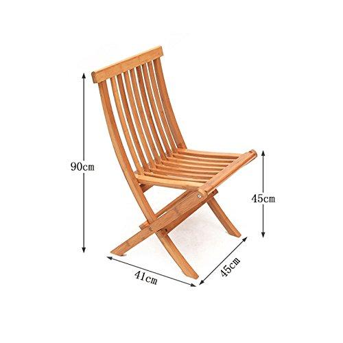 WANGXIAOLIN Folding Chair Dining Chair Portable Bamboo Chair Fishing Chair Folding Chair (Size : 45cm90cm) by WANGXIAOLINzhediedeng (Image #1)