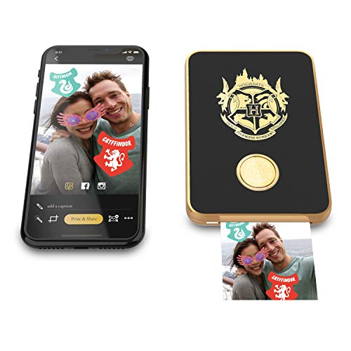 Harry Potter Magic Photo and Video Printer for iPhone and Android. Your Photos Come to Life Like Magic! - Black by Lifeprint (Image #1)