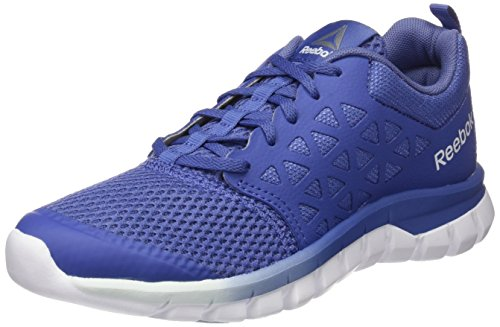 Reebok WoMen Sublite Xt Cushion 2.0 Mt Competition Running Shoes Blue (Lilac Shadow/Fresh Blue/White/Pewter)