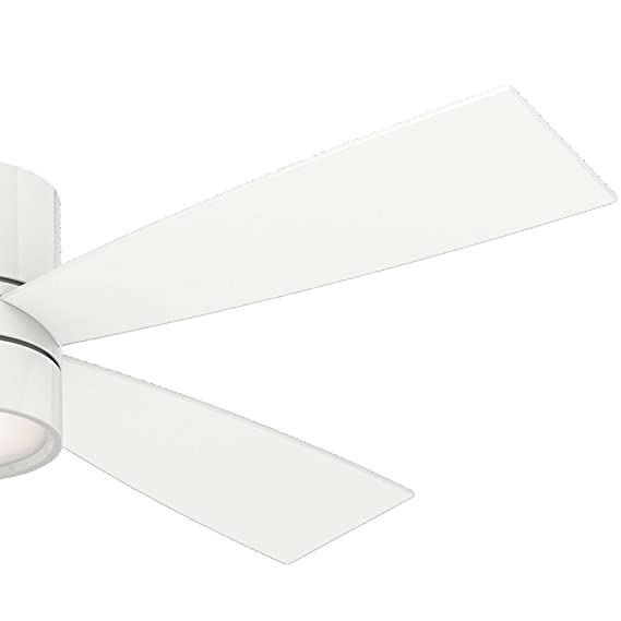Casablanca 59070 Bullet 54 Inch Snow White Ceiling Fan With Four