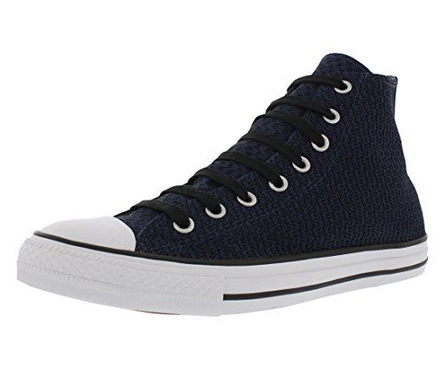 Star and Chuck Unisex and High Classic Taylor All Midnight in Casual Navy White Black Canvas Top Color Sneakers Converse Style Uppers Durable xqIw56p5