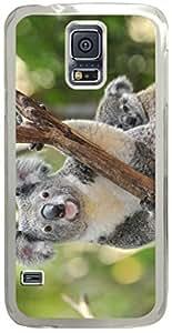 Koala Animal Samsung Galaxy S5 Case with Transparent Skin