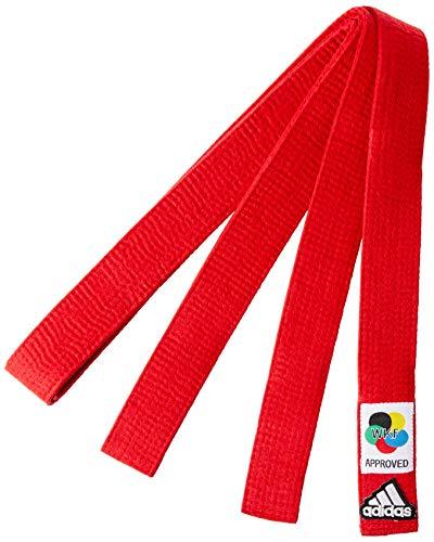 ADIDAS Faixa Elite Karate 3,00 VERM-WKF