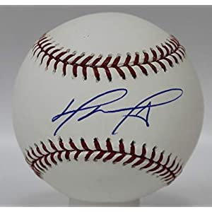 David Ortiz Autographed Boston Red Sox ROMLB Baseball w/JSA COA