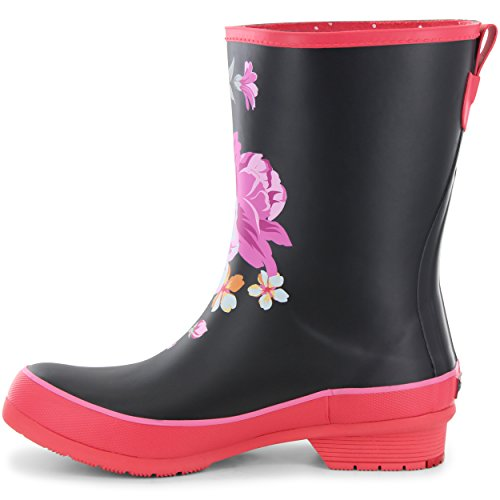 Fuchsia Rain Hilde Chooka Boots Mid Womens qnRxTnwWfX