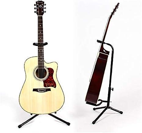 Hillhead Soporte para guitarra plegable para bajista de guitarra ...