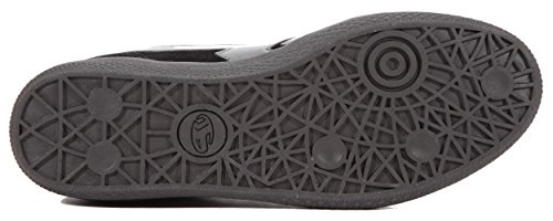 Boras - Zapatos de cordones de Piel para hombre Negro negro