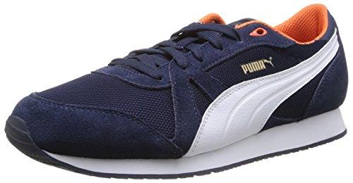 Puma TF-Racer Mesh - zapatilla deportiva de material sintético unisex azul - Blau (peacoat-white-nasturtium 02)