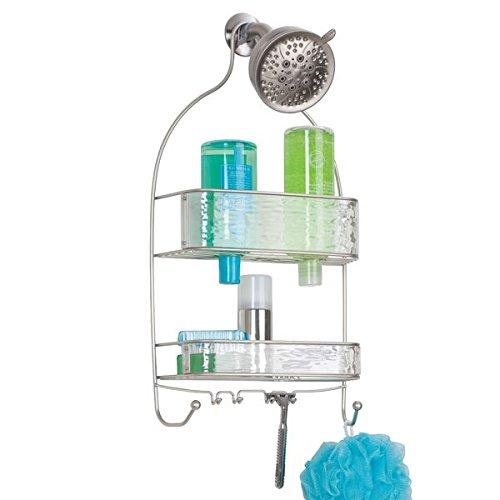 mDesign Bathroom Shampoo Conditioner %C3%83%C3%82 Clear
