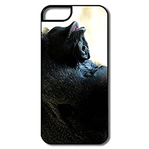 Personalized Custom Covers Geek Gorilla Kiss For IPhone 5/5s