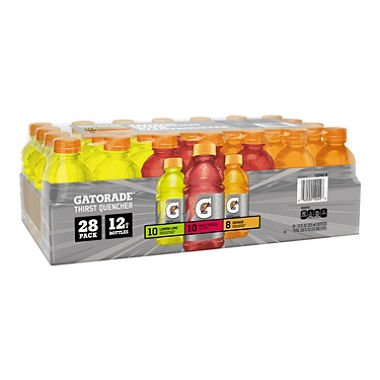 Gatorade Sports Drinks Core Variety Pack (12 fl. oz. bottles, 28 ct.) (pack of 6) by Gatorade