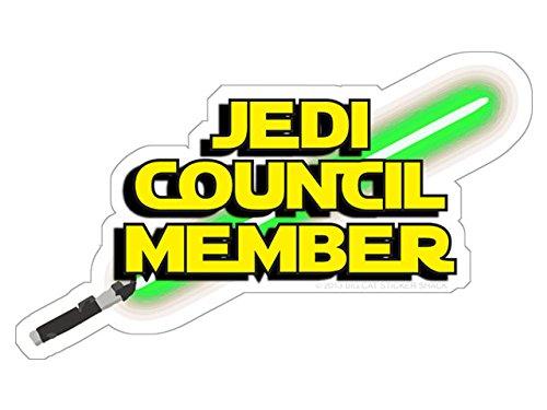 Jedi Council Members - Jedi Council Member (Bumper Sticker)