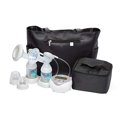 Medline Double Electric Portable Breast Pump, Large