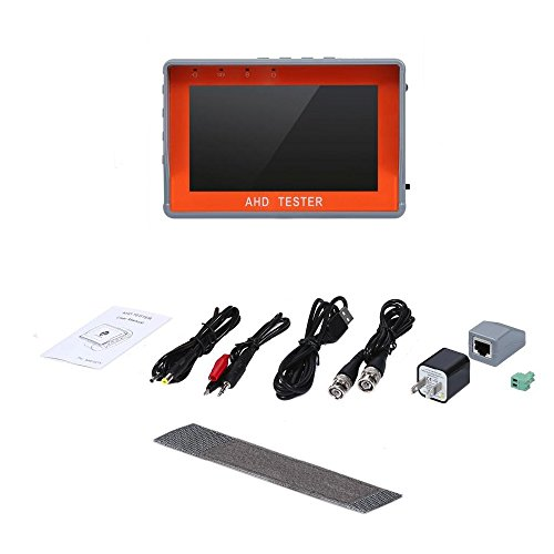 Eoncore 4.3 inch TFT LCD Monitor 1080P AHD Security CCTV Camera & CVBS Security Tester 2 in 1 Analog Video With Network Cable Test