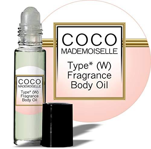 Intense Oil Perfume (Coco Mademoiselle Chanel Type* (W) Women Fragrance Perfume Body Oil)