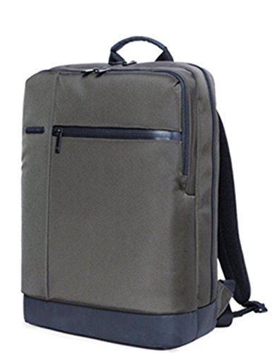 2017 Newest 90Fun Gofun Xiaomi Backpack Casual Fashion Style Water Resistant Light Weight Slim Multipurpose Large Capacity Durable Shoulder Daypack Fits Up To 15 6 Inch Laptop Macbook  Dark Green