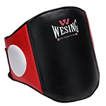 Boxing Belly Pad Chest Guard MMA Body Protector Martial Arts Rib Shield Armour Taekwondo Training By Wesing