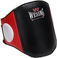 Wesing Combat Sports Dome Air Tech Boxing Muay Thai MMA Training Kick Shield Rib Guard Body Protector Belly Pa