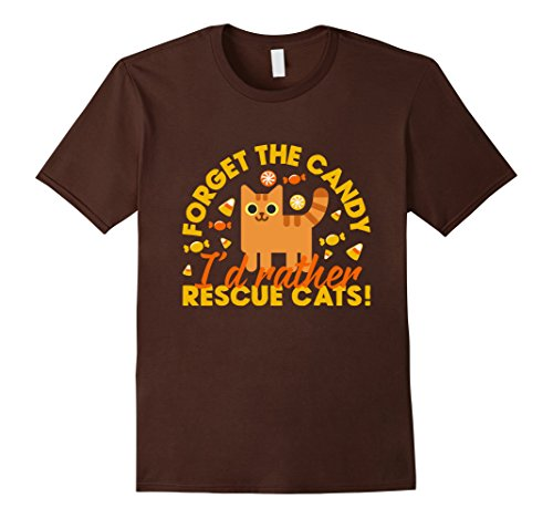 Cute Cat Rescue Halloween Candy T-Shirt