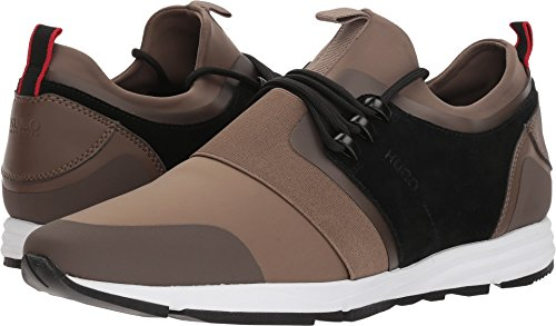 Hugo Boss Boss Men's Hybrid Running Sneaker by Hugo Dark Beige 7 D US