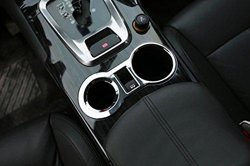ABS Chrom Innen Wasser Becherhalter Deko Verkleidung 1/St/ück f/ür Auto Zubeh/ör pg3008