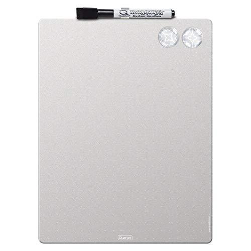 Quartet Magnetic Dry-Erase Frameless Whiteboard, Melamine, 8 1/2