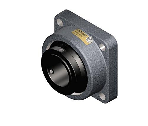 Sealmaster-USFB5000-315-Unitized-Spherical-Split-Cast-Iron-Roller-Bearing-Flange-Block-4-Bolt-Base-Collar-Mount-78-Bolt-Size-3-1516-Shaft-Diameter