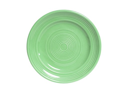 Tuxton CTA-062 Vitrified China Concentrix Plate, 6-1/4'', Cilantro (Pack of 24), Oven-Microwave-Pressure Cooker Safe; Freezer to Oven Safe by Tuxton (Image #1)