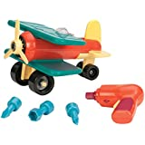 Battat Take-A-Part Toy Vehicles Airplane, Green