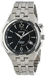 Seiko Men's SKA515 Kinetic No Battery Required Watch