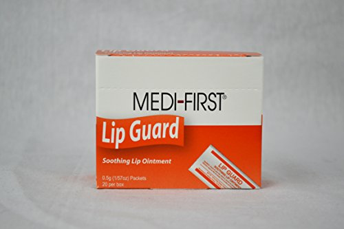 Medi-First Lip-Guard Soothing Lip Ointment 0.5 Gram (20 Packets/Box) MS84145 Amarte  80-ml Wonder Cream